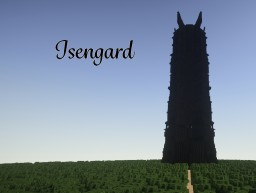 Isengard - The Tower of Orthanc Minecraft Map & Project