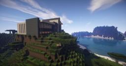 futuristic mansion IV Minecraft Map & Project