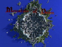 Mountain of Doom - Minecraft Spawn / Hub (Fantasy Style) Minecraft