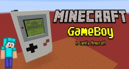 "Vanilla Minecraft:""Gameboy"" by TheFero Minecraft Map & Project"
