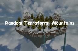 Random Terraform #5: Mountains Minecraft Map & Project