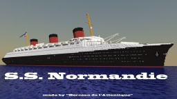 French liner-SS Normandie Minecraft