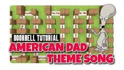 American Dad Note Block Tutorial Minecraft Project