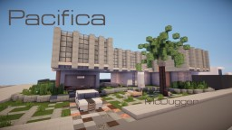 Pacifica House / Brutalism / Metropolis Minecraft Map & Project