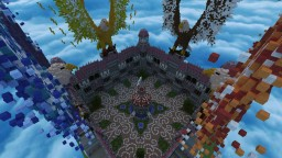 12 Portal Spawn/Hub with Organics Minecraft