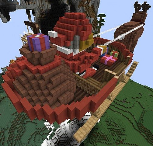 Lets Build - Santa's Sleigh Minecraft Project