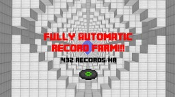 Automatic Record-Farm  (432Records/Hr) Cool new Concepts Minecraft Map & Project