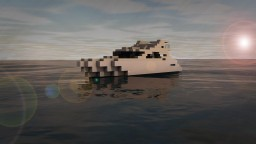 Hydyraa ~ Small Yacht ~~Download Available Minecraft Project