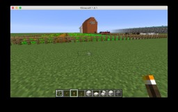 Farm w/house Minecraft Map & Project