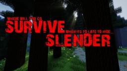 Survive Slender 1.8 (Slenderman Survival Minigame/Gamemode)