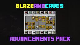 BlazeandCave's Advancements Pack [1.17 Datapack] Minecraft Data Pack