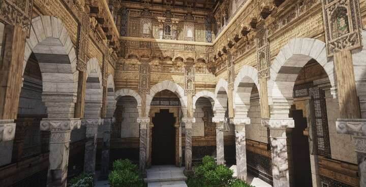 Andalusian Courtyard - by eag_inc