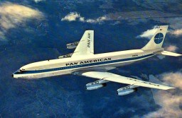Pan American World Airways (Pan Am) 707-321 Minecraft Map & Project