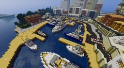 Monaco Map Minecraft Map & Project