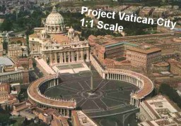 Project Vatican [Whole Country] Builders needed !