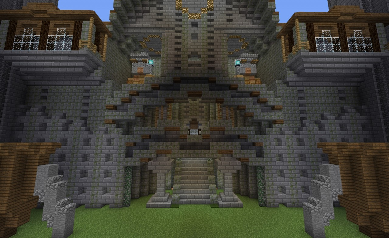Entrance of underground layer Minecraft Project