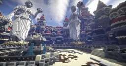 Courtyard Spawn for the Minesaken Network
