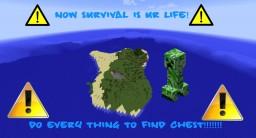 PlaneCrash Survival! Minecraft Map & Project