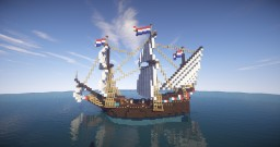 Duyfken - 16th century ship Minecraft Project