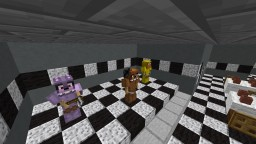 Fredbear's Family Diner (Working Security Doors, Backstage Endoskeleton, Golden Freddy and MORE!) NO RESOURCE PACK REQUIRED! Minecraft