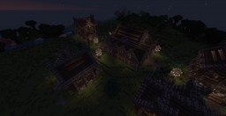 Medieval Town (MAP) Minecraft Project
