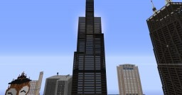 Willis Tower Minecraft Map & Project