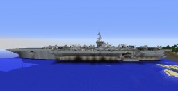 USS Kitty Hawk CV-63 Minecraft
