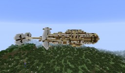 """Astilon"" Steampunk Airship Minecraft Project"
