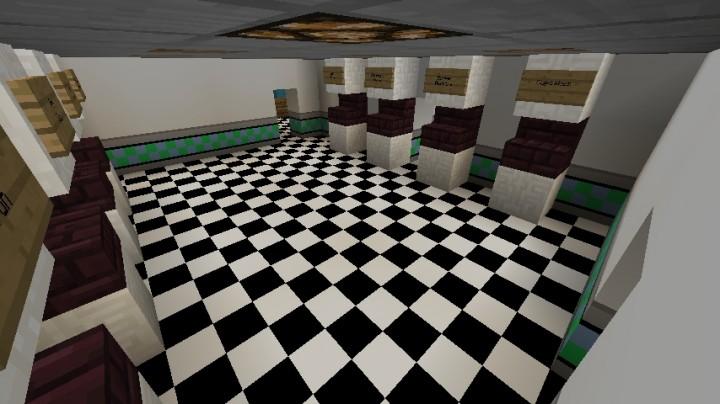 Minecraft Fnaf 3 Office