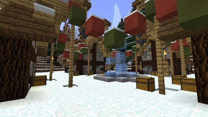 The village of christmas