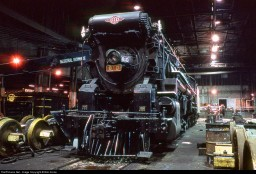 Texas & Pacific 610 = 2-10-4 steam locomotive.