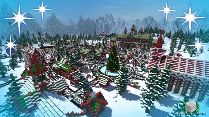 minecraft noel TheReawakens   Santa's Gingerbread Christmas City [Download  minecraft noel