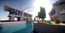 Modern University Campus - Plot Minecraft Project