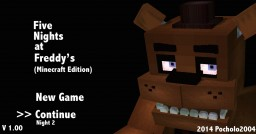 Five Nights At Freddy's | By Pocholo2004 Minecraft Map & Project