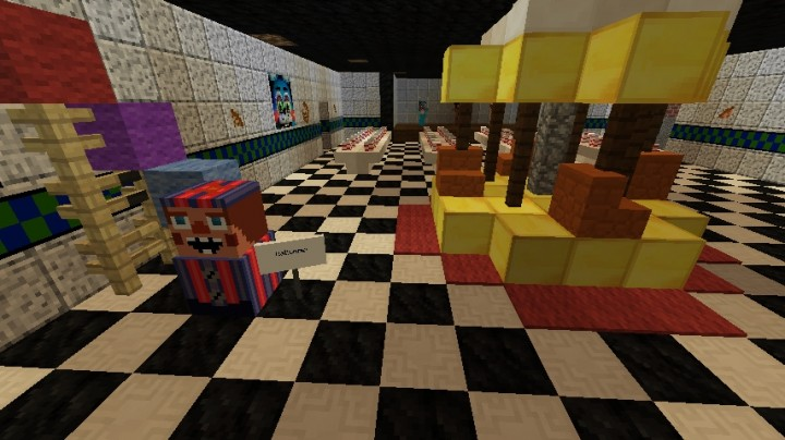 Top Five Five Nights At Freddy's Minecraft Map Download - Circus