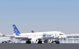 Airbus A320neo (world collection) Minecraft Map & Project