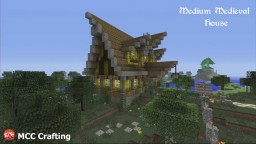 Medium Medieval House. PS3/PS4/CONSOLE Minecraft Project