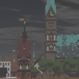 Muehlentor Rostock, Germany Minecraft Map & Project