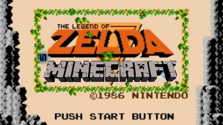The Legend of Zelda NES Remake in Minecraft  Minecraft Project