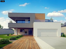 Modern House 02/ Casa moderna 02. Modelo Arizona. Minecraft Project