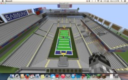 Nike Stadium (Football Stadium) Minecraft Map & Project