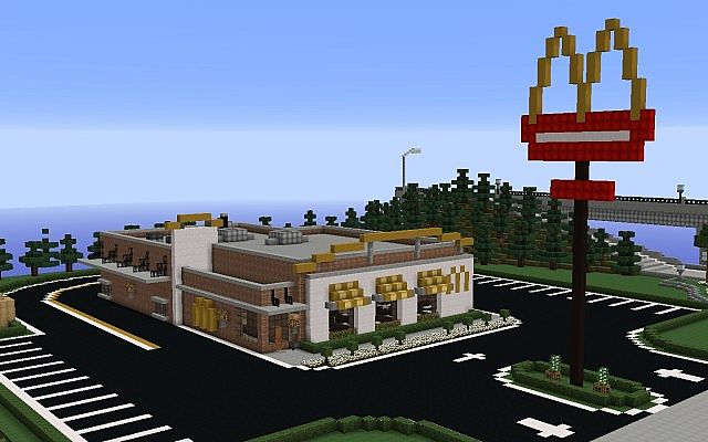 planet minecraft map with Modern Mcdonalds 3176280 on Modern Mcdonalds 3176280 likewise 3d Pixel Art Bumble Bee Rabbit Ducky furthermore Help Me Plz also The Rms Titanic moreover 3d Pixel Art Pokemon Waterslide Gyarados.