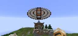Small Floating Island house Minecraft Map & Project