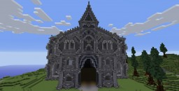 Palace above the land Minecraft Map & Project