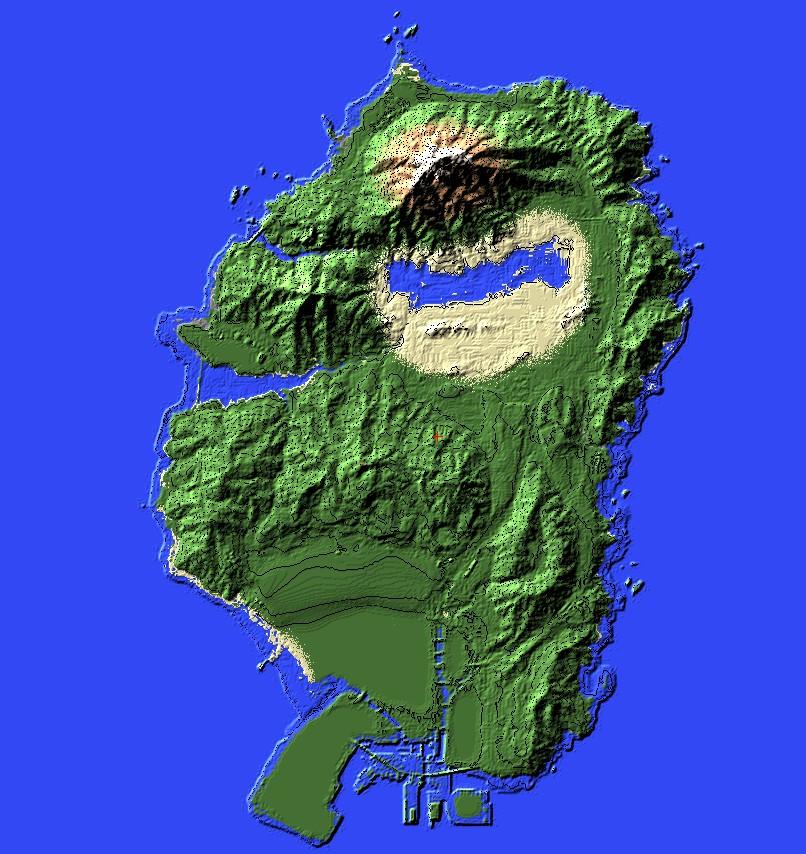 GTA V Blank Map (San Andreas/Los Santos) Minecraft Project San Andreas Los Santos Map