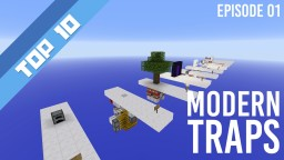 Top 10 Redstone Contraptions - Modern Traps (Minecraft 1.8) Minecraft Map & Project
