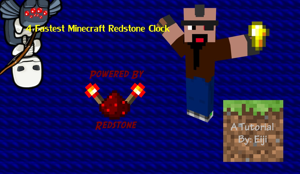 how to make a fast redstone clock