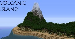Volcanic Island Minecraft Map & Project