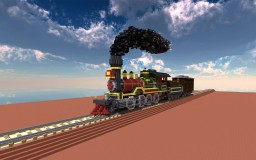Steam Locomotive and Coaling tower Minecraft Map & Project
