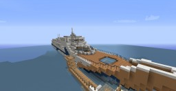 The Dolphin's Wake Super Yacht Minecraft Map & Project